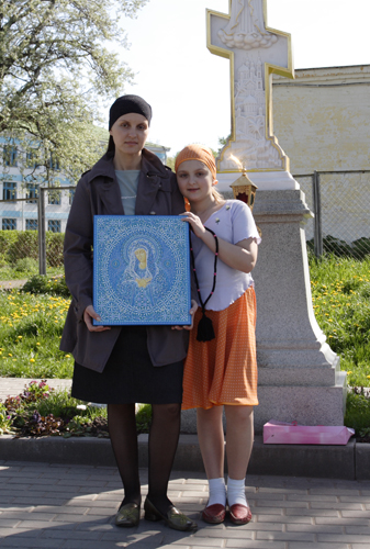 Икона Богородицы «Умиление» Серафимо-Дивеевская (Радуйся, Невесто Неневестная)