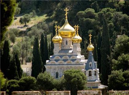 Храм Святой Марии Магдалины у подножия Елеонской горы