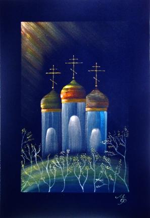 Храмы весной картинки