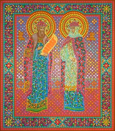 икона петра и февронии муромских: