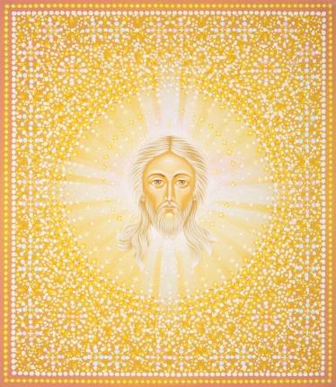 Икона «Спас. Явление» (Спас Нерукотворный), иконописец Юрий Кузнецов
