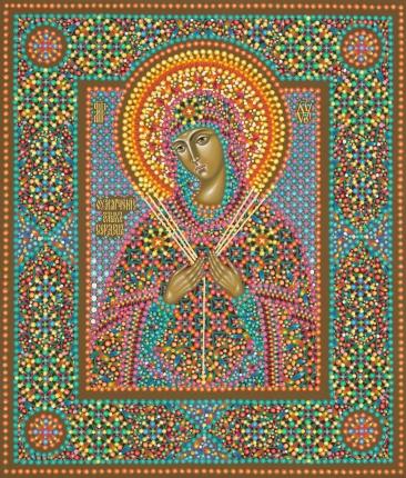 Икона Божией Матери «Умягчение злых сердец», иконописец Марина Филиппова