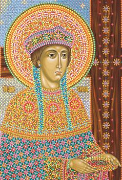 Икона святой равноапостольной царицы Елены, иконописец Юрий Кузнецов