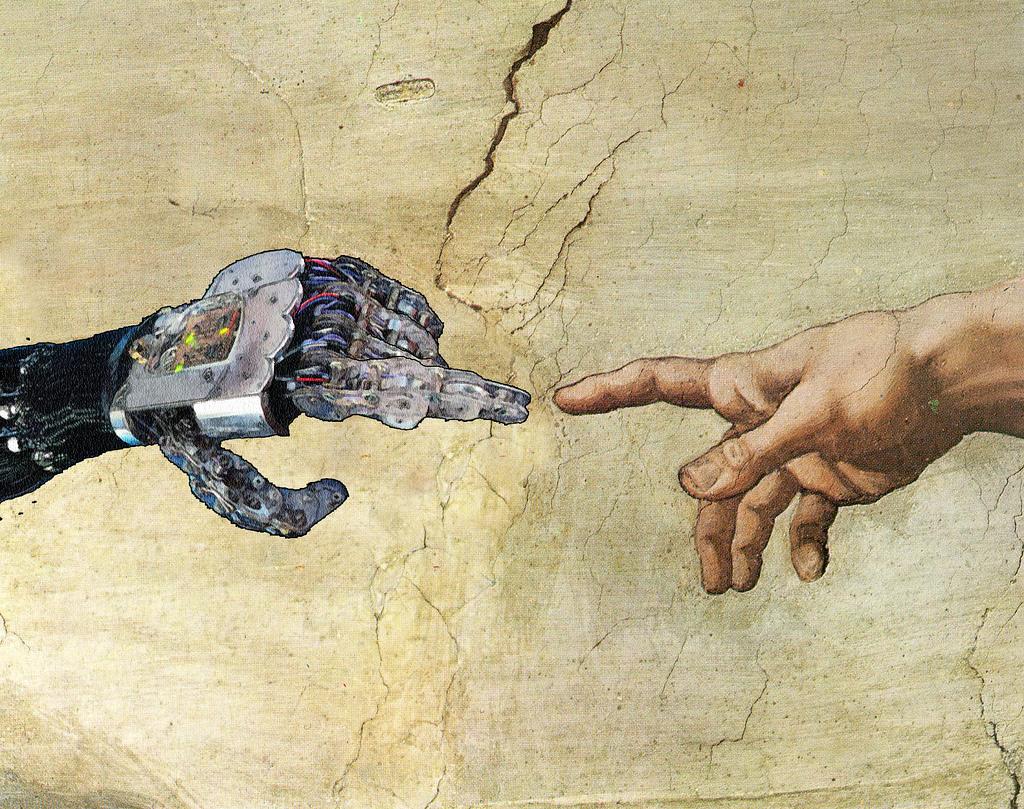 essay of man vs machine